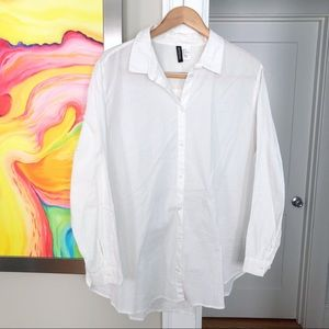 DIVIDED BY H&M 100% Cotton Classic Button Shirt